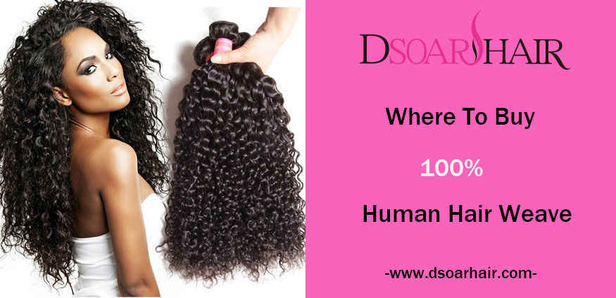 100% huamn hair weave