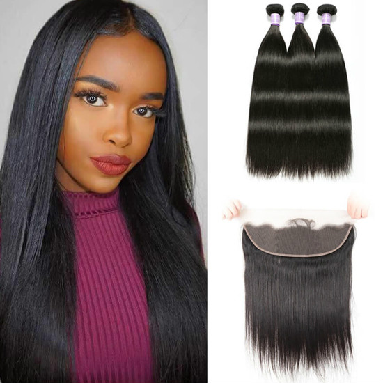 13x6 lace frontal with bundles