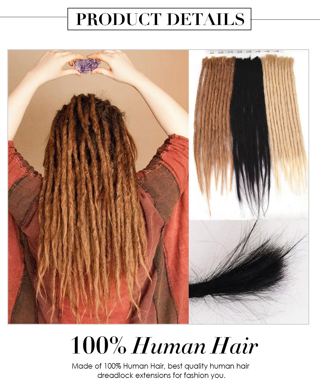 Long Dreadlock Extensions