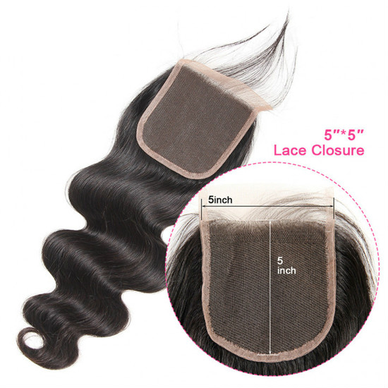 5x5 lace closure