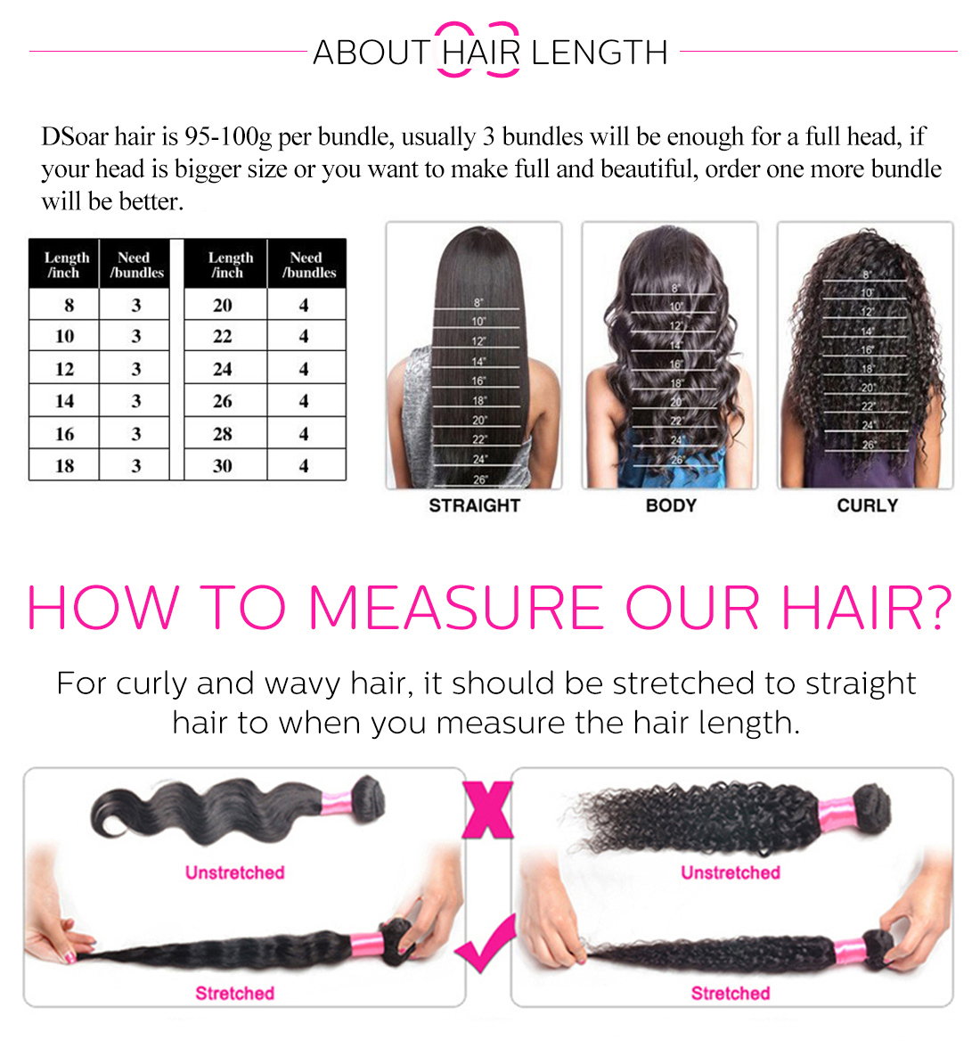 613 hair bundles