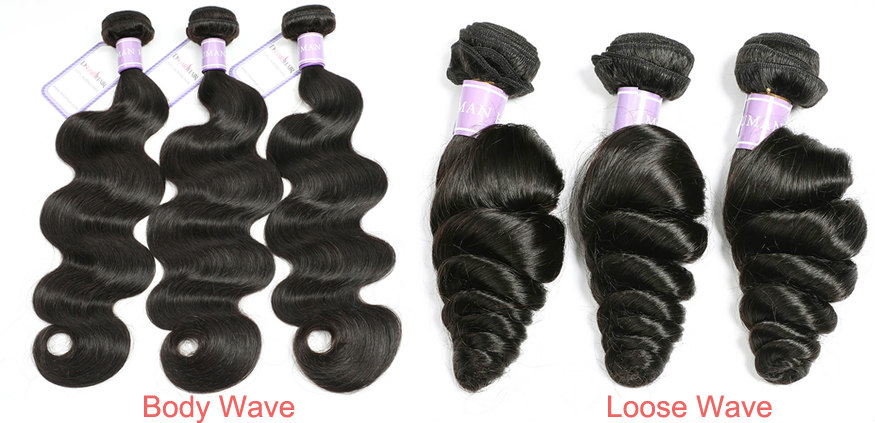 Body wave hair VS loose wave hair