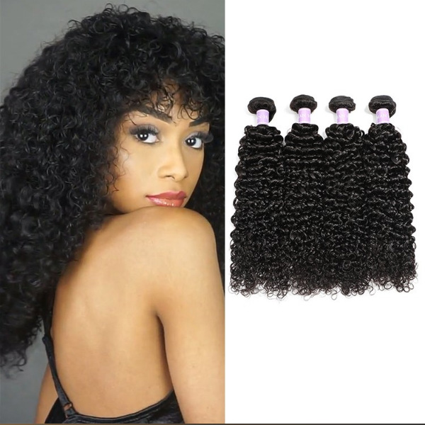 Brazilian curly weave human hair