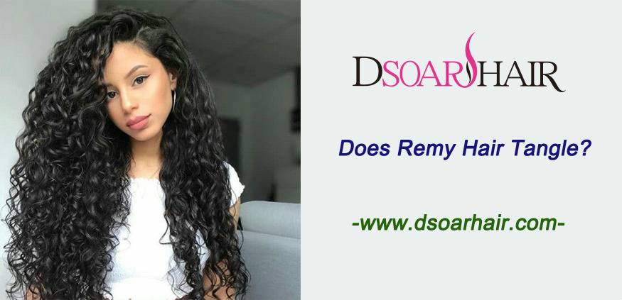 Does Remy hair tangle