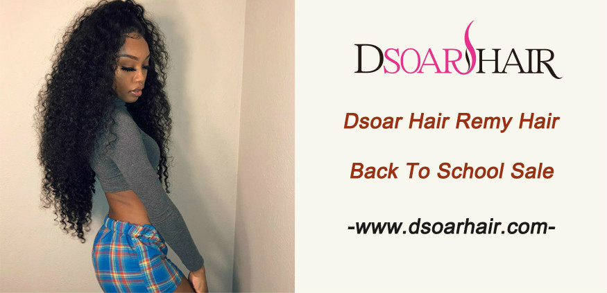 Dsoar Hair Remy Hair Back To School Sale