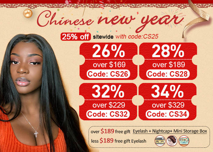 Dsoarhair Chinese New Year Big Sale
