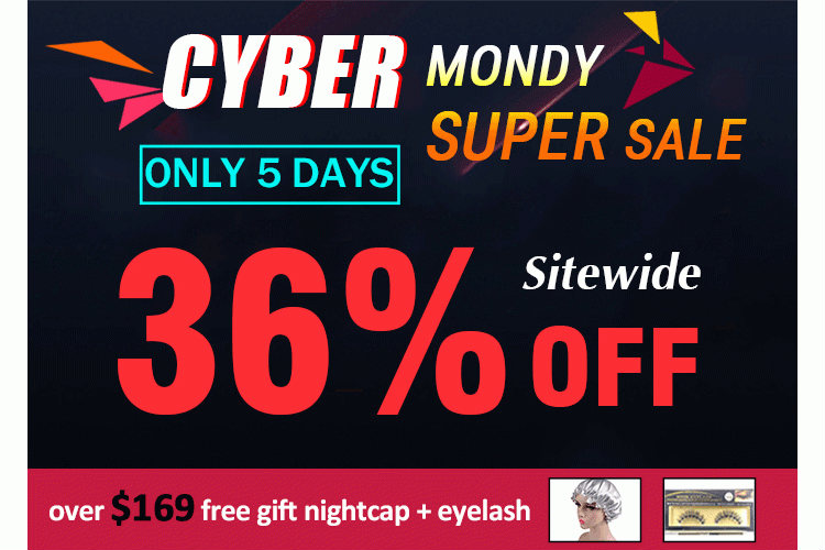 Dsoarhair Cyber Monday Super Sale
