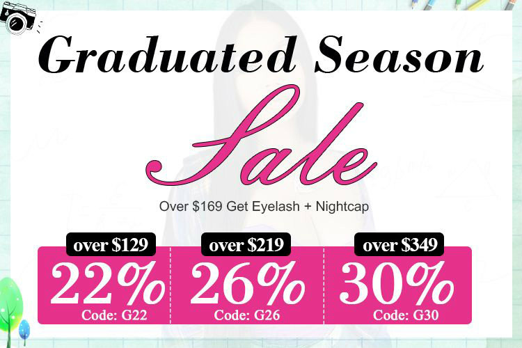 Dsoarhair Graduated Season Big Sale
