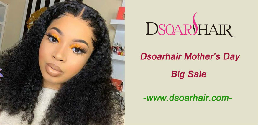 Dsoarhair Mother's Day big sale for 100 human hair
