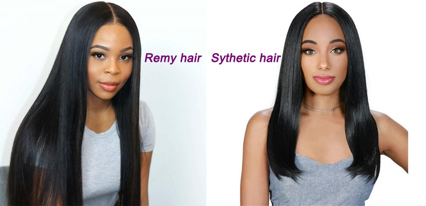 Remy hair VS Sythetic hair