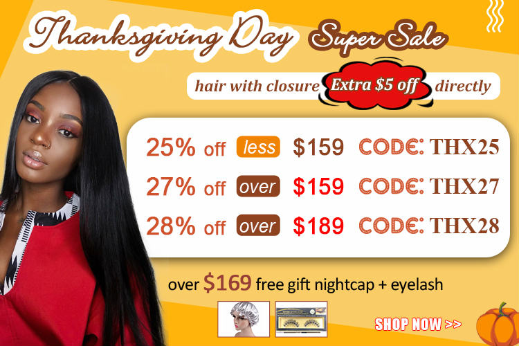 Dsoarhair Thanksgiving Day Super Sale