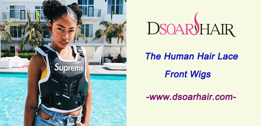 The human hair lace front wigs-Dsoarhair big discount for Chinese New Year