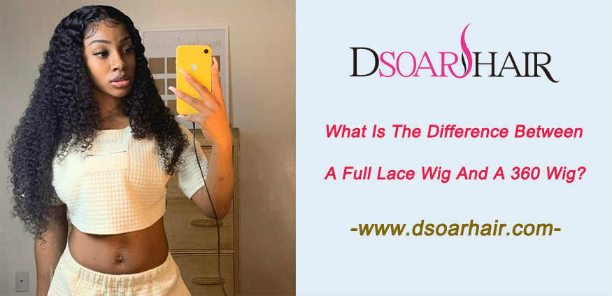 What is the difference between a full lace wig and a 360 wig