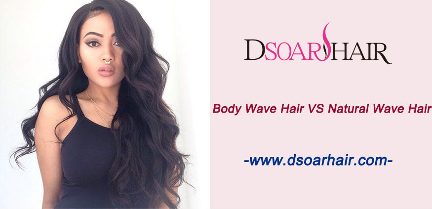 What's the difference between the natural wave hair and body wave hair