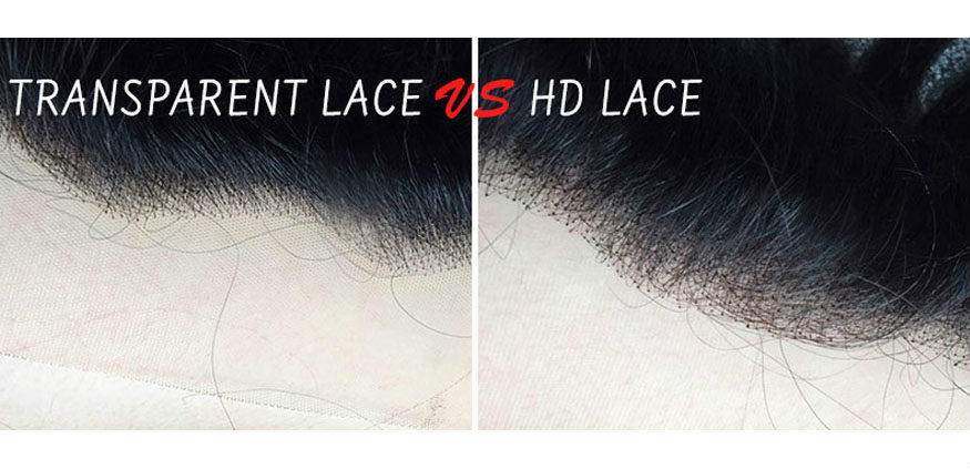 What's the difference between the transparent lace wig and HD lace wig