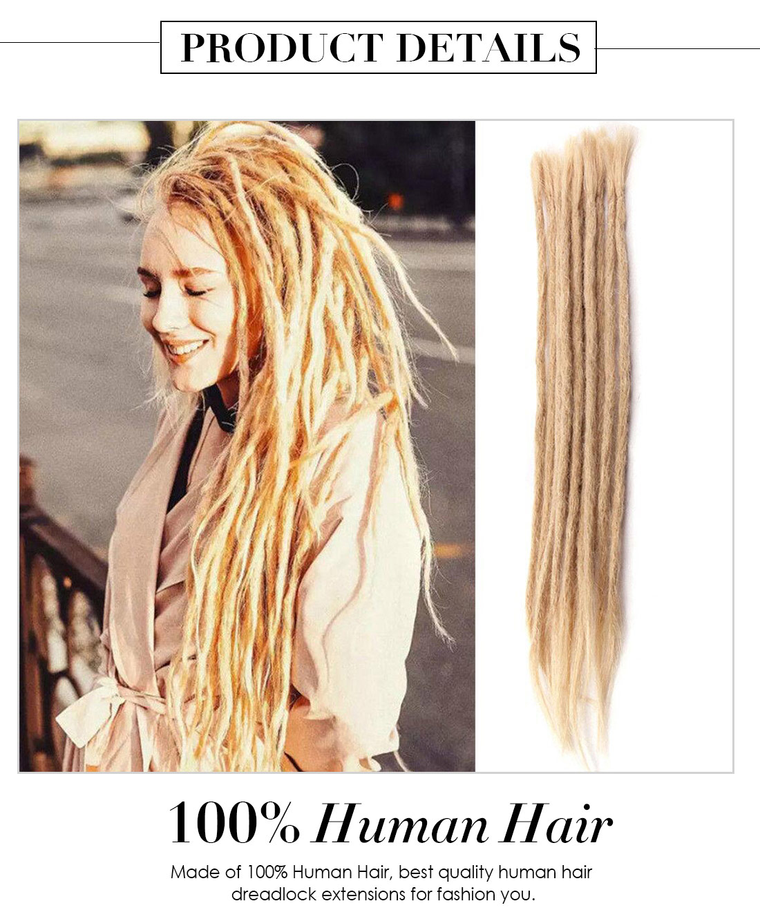 Hair Dreadlock Extensions