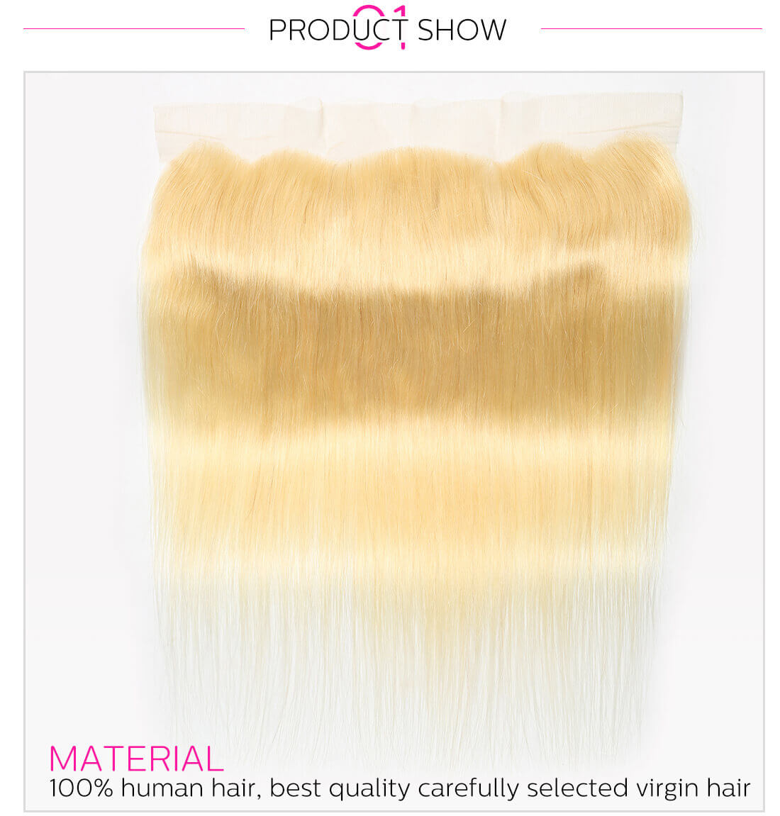 DSoar Hair 613 Blonde Lace Frontal