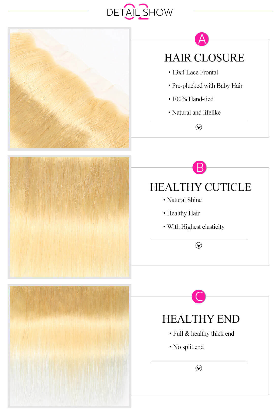 Indian Straight Hair Bundles With Lace Frontal