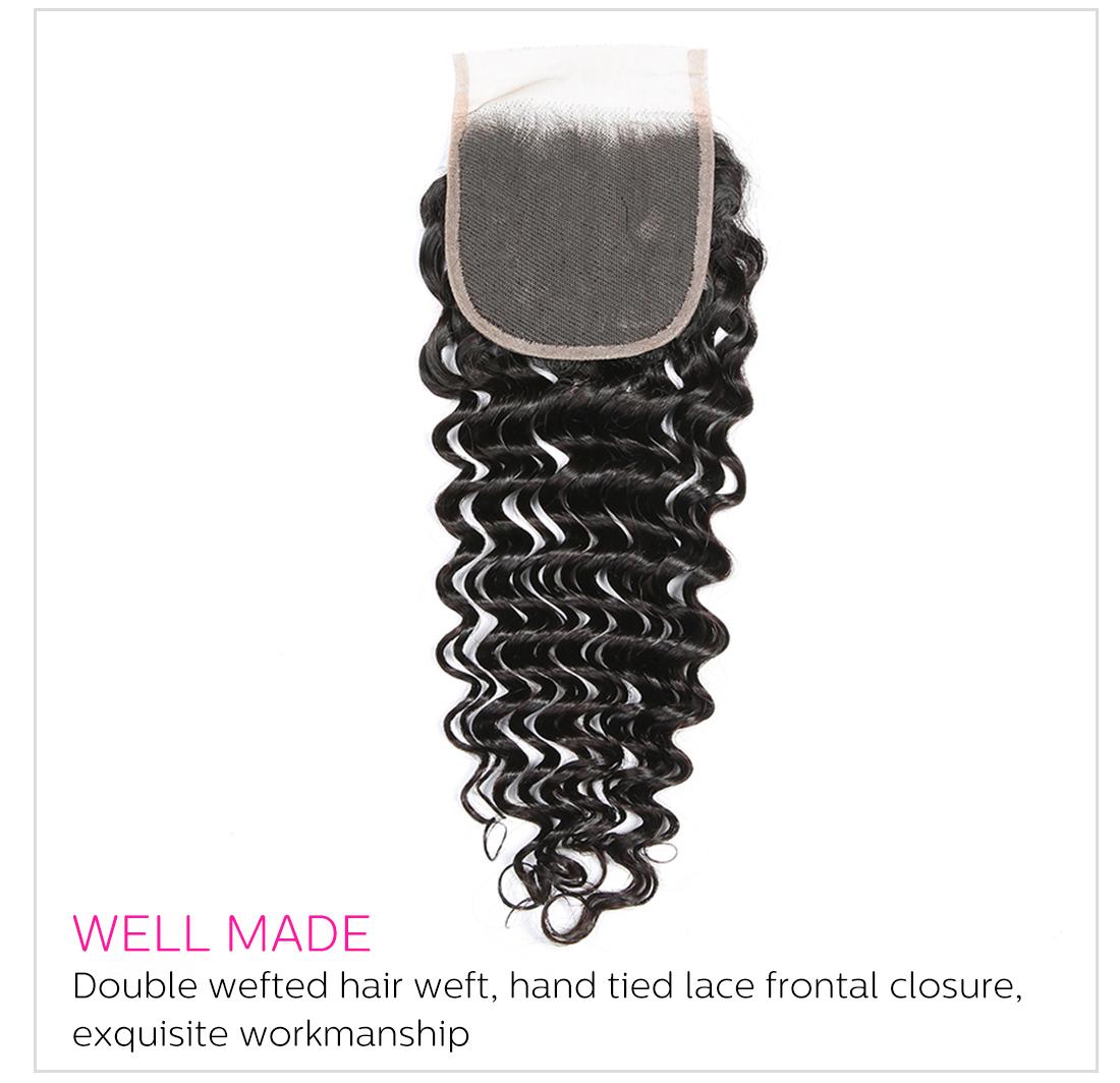 Deep Wave Peruvian Hair