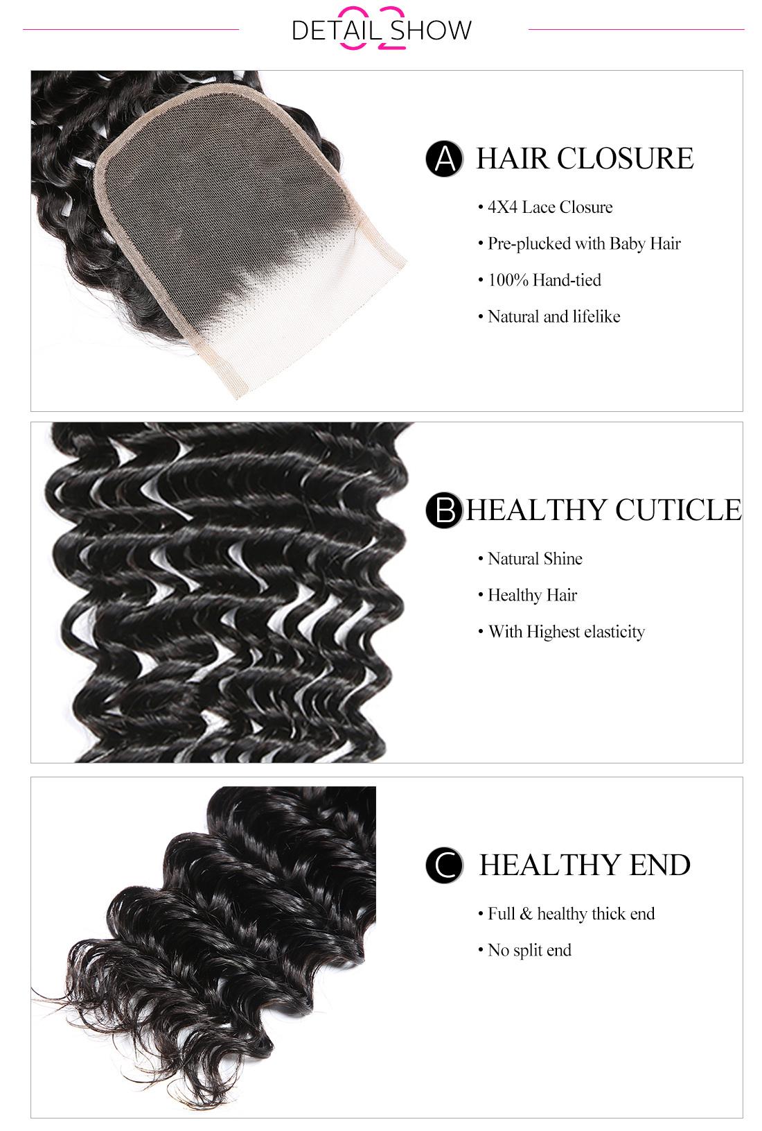 deep wave lace closure