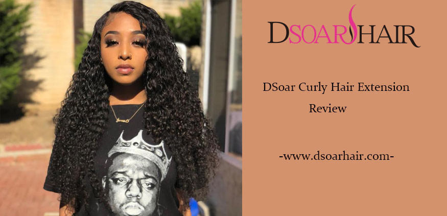 DSoar Curly Hair Extensions Review