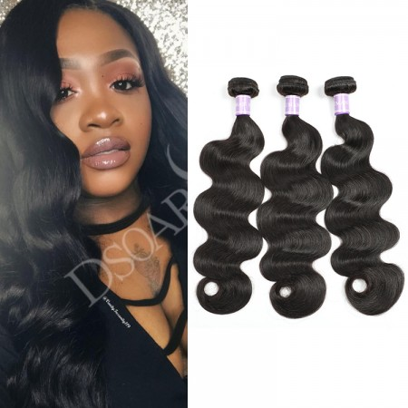 3 Pcs/Pack DSoar Hair Brazilian virgin hair body wave