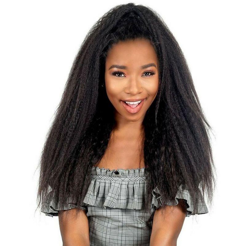 Kinky Yaki Straight Hair