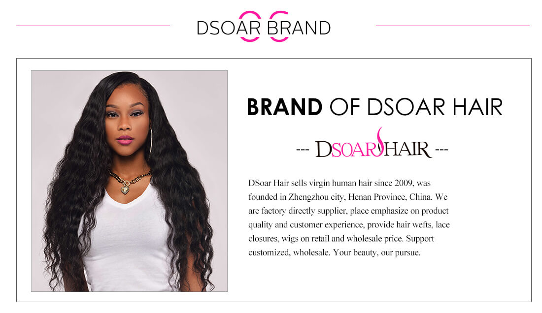 DSoar Hair Kinky Straight Bundles