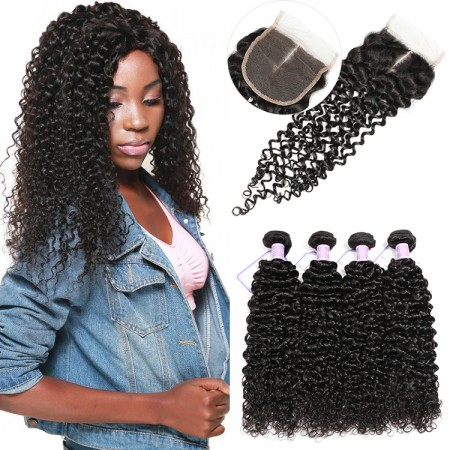 4 bundles with frontal
