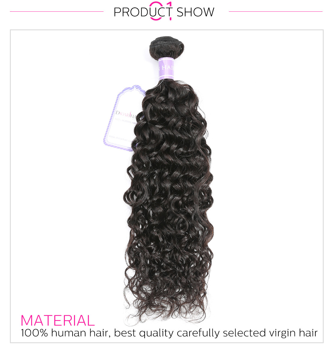 Peruvian wavy hair natural wave