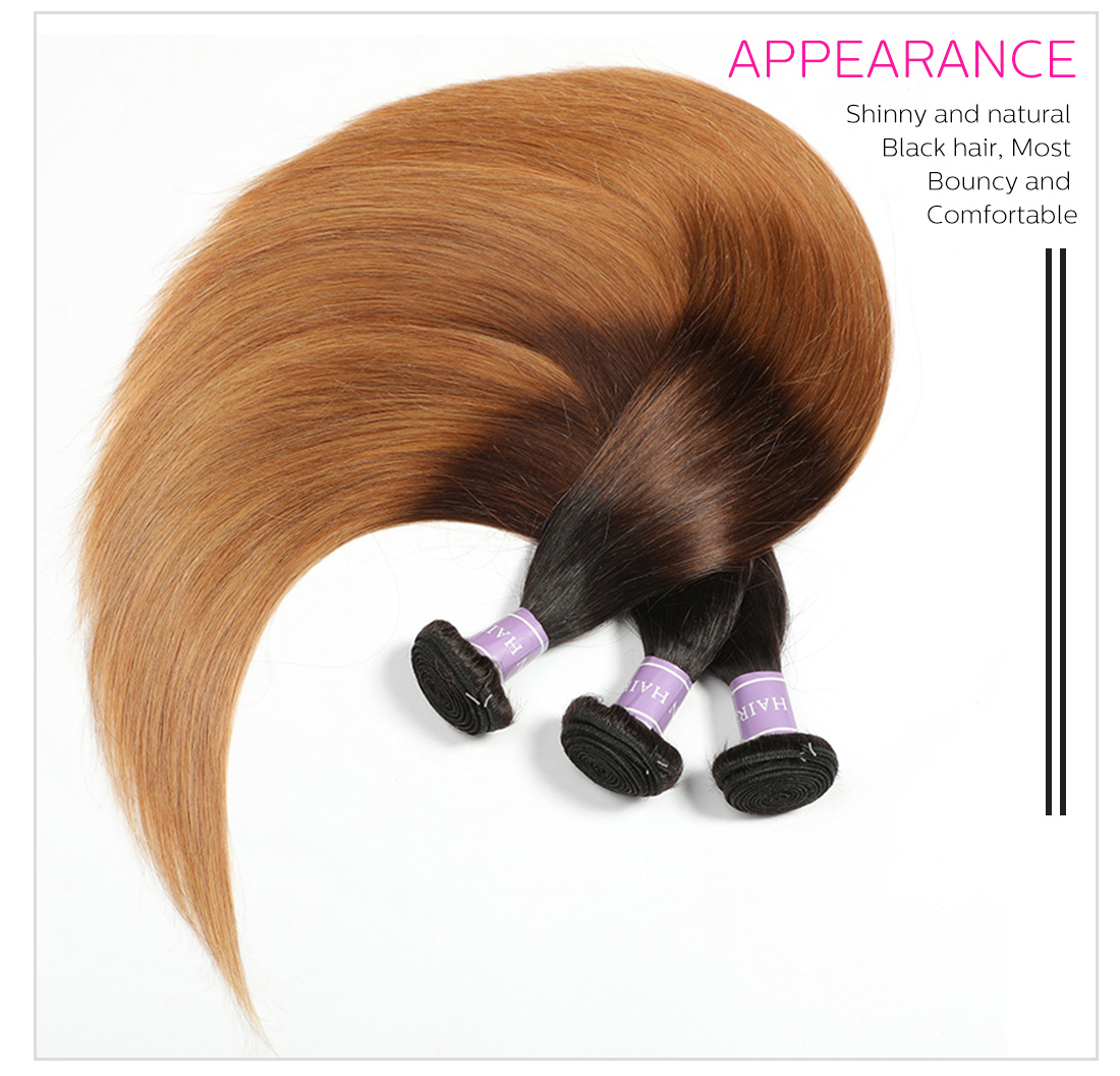 ombre human hair weave