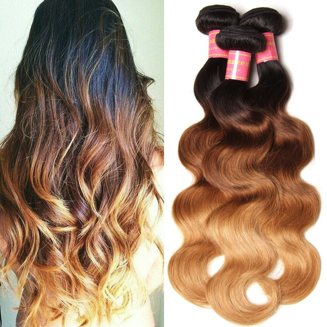 T1B/4/27 Ombre Hair