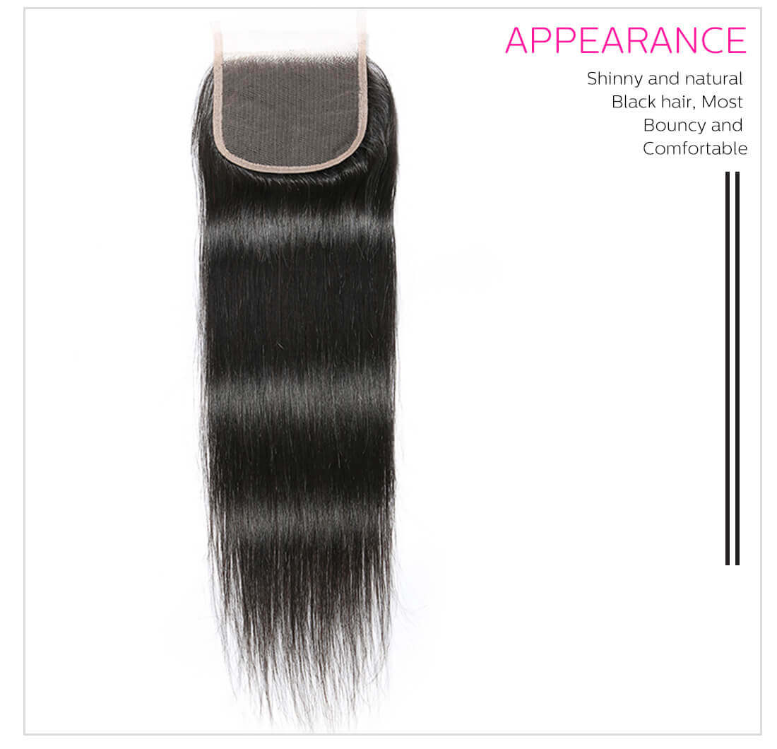 Virgin Remy Straight Human Hair Weave