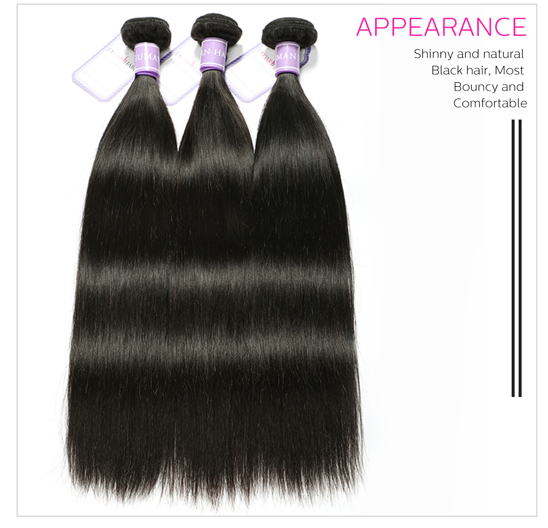 Malaysian virgin hair straight