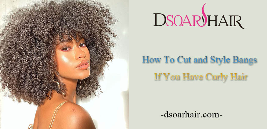 How To Cut and Style Bangs If You Have Curly Hair